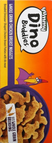 Yummy Dino Buddies Whole Grain Chicken Breast Nuggets Perspective: left