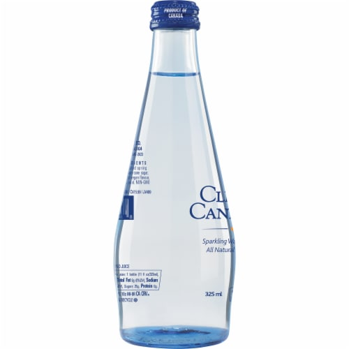 Clearly Canadian Orchard Peach Sparking Water Beverage Perspective: left