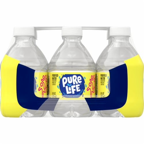 Nestle Pure Life Purified Water Perspective: left