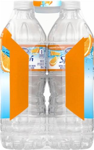 Nestle Splash Mandarin Orange Flavored Enhanced Water Perspective: left