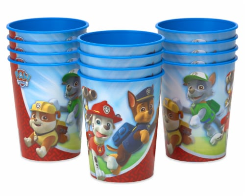 American Greetings Paw Patrol Reusable Plastic Party Cups Perspective: left