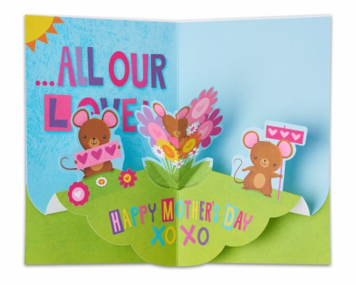 American Greetings Mother's Day Card from Kids (Something Special) Perspective: left