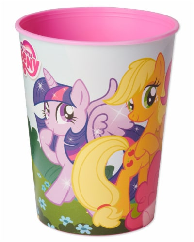 American Greetings My Little Pony Reusable Plastic Party Cups Perspective: left