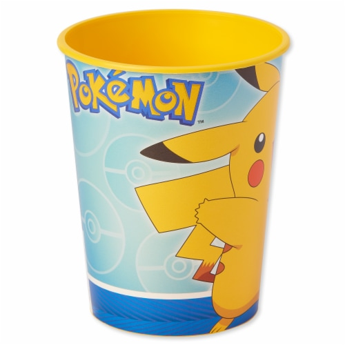 American Greetings Pokemon Reusable Plastic Party Cups Perspective: left