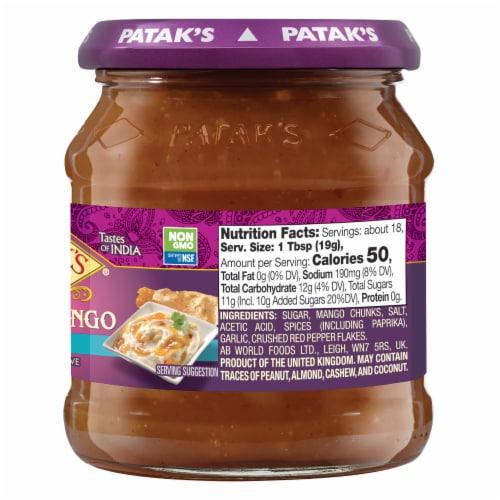 Patak's Hot Mango Chutney Perspective: left