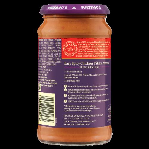 Patak's® Hot & Spicy Tikka Masala Sauce Perspective: left
