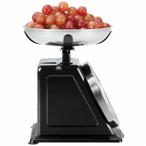Gourmet By Starfrit 080211-003-0000 Retro Mechanical Kitchen Scale Perspective: left