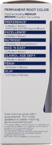 Clairol Permanent 5 Medium Brown Root Touch-Up Perspective: left