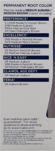 Clairol Permanent 5R Medium Auburn / Reddish Brown Root Touch-Up Perspective: left