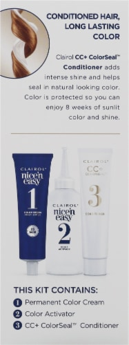 Clairol Nice'n Easy 6.5G Lightest Golden Brown Permanent Hair Color Perspective: left