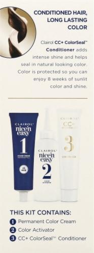 Clairol Nice'n Easy 5N Medium Neutral Brown Permanent Hair Color Perspective: left