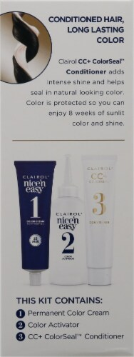 Clairol Natural Looking Nice'n Easy Permanent 2 Black Color Perspective: left