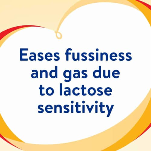 Similac Sensitive For Fussiness and Gas Powder Infant Formula with Iron Perspective: left