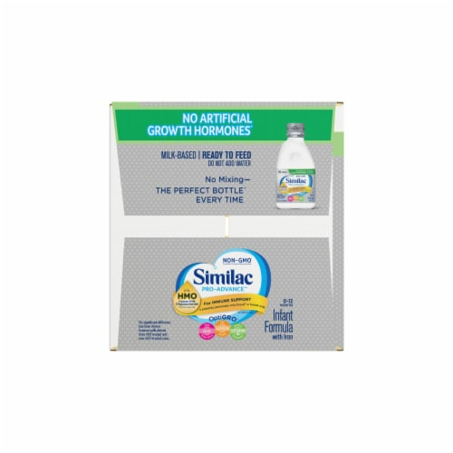 Similac Pro-Advance Non-GMO with 2'-FL HMO Ready-to-Feed Infant Formula with Iron Perspective: left