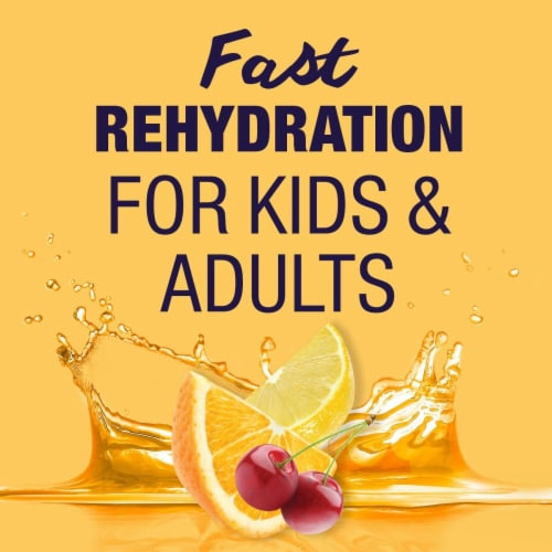 Pedialyte® Mixed Fruit Ready-to-Drink Electrolyte Solution Perspective: left