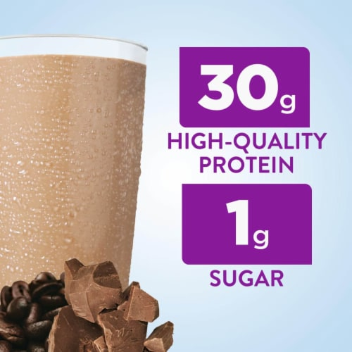 Ensure Max Protein Cafe Mocha Ready-to-Drink Nutrition Shake Perspective: left