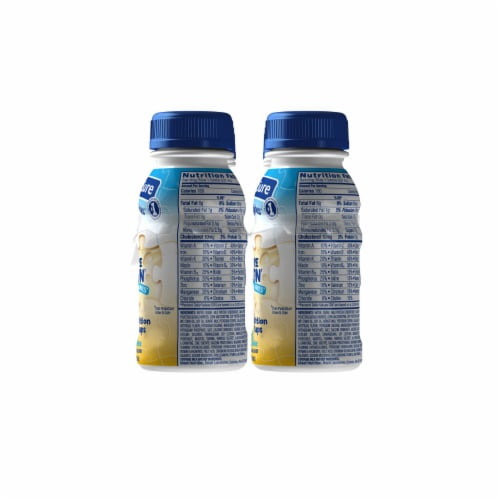 PediaSure SideKicks High Protein Vanilla Ready-to-Drink Nutrition Shakes Perspective: left