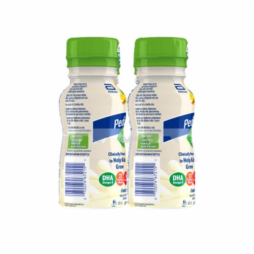 PediaSure Grow & Gain Organic Classic Vanilla Shakes Perspective: left