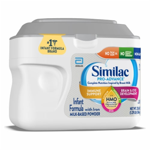 Similac Pro-Advance Milk-Based Powder Infant Formula with Iron Perspective: left