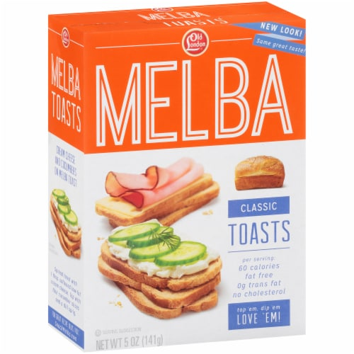 Old London Classic Melba Toasts Perspective: left