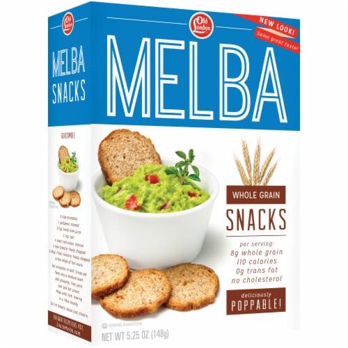 Old London Melba Whole Grain Snacks Perspective: left