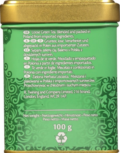 Twinings Gunpowder Loose Green Tea Perspective: left