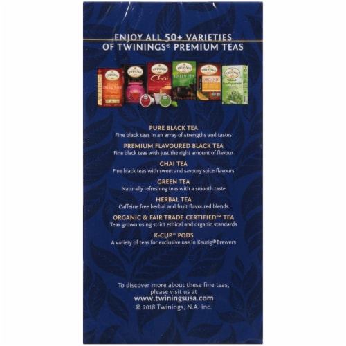 Twinings Of London Black Tea Bags Variety Pack Perspective: left