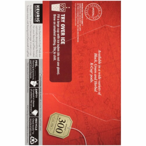 Twinings of London English Breakfast Tea K-Cup Pods Perspective: left