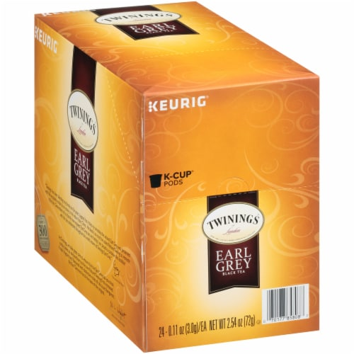 Twinings Of London Earl Grey Tea K-Cup Pods Perspective: left