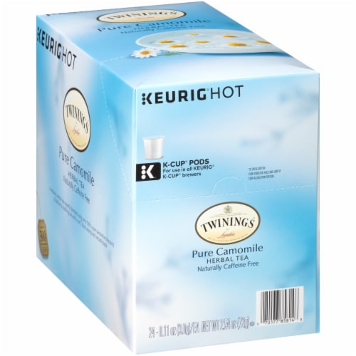 Twinings Of London Pure Camomile Herbal Tea K-Cup Pods Perspective: left