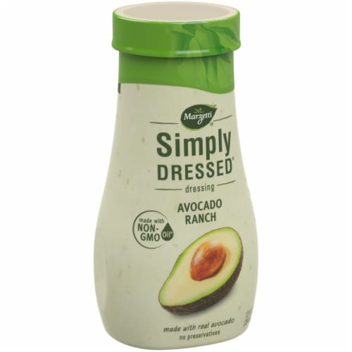 Simply Dressed Avocado Ranch Dressing Perspective: left