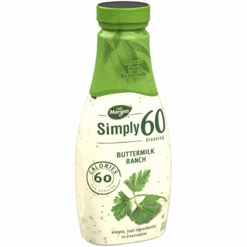 Marzetti Simply 60 Buttermilk Ranch Dressing Perspective: left