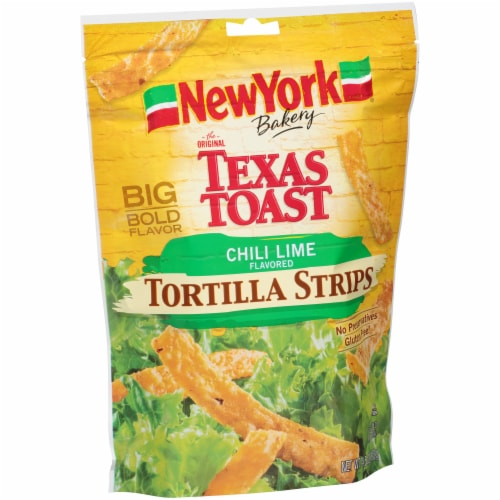 New York Bakery Chili Lime Tortilla Strips Perspective: left