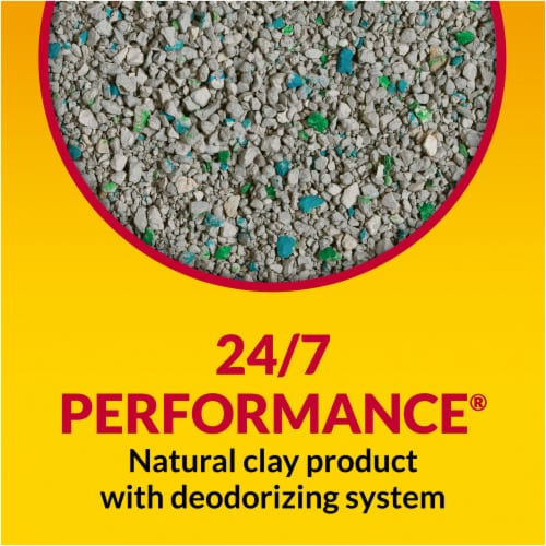 Tidy Cats® 24/7 Performance Multi Cat Non-Clumping Clay Litter Perspective: left