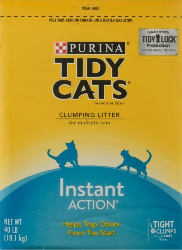 Tidy Cats® Instant Action Multi-Cat Clumping Litter Perspective: left