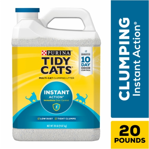 Tidy Cats Instant Action Multi Cat Clumping Litter Perspective: left