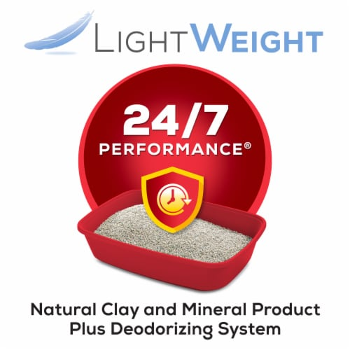 Tidy Cats Light Weight 24/7 Performance Clumping Multi Cat Litter Perspective: left