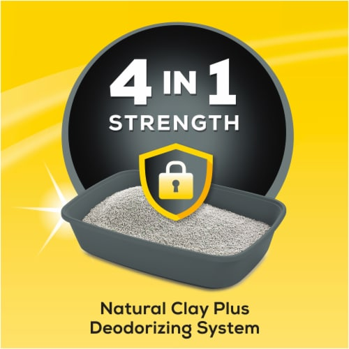 Tidy Cats 4-in-1 Strength Clumping Multi-Cat Litter Perspective: left
