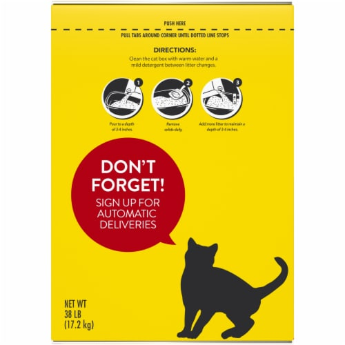Purina Tidy Cats Tidy Max Multiple Cat Clumping Litter Perspective: left