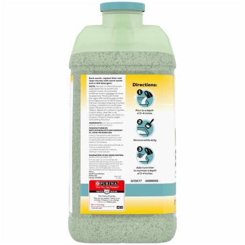 Tidy Cats Naturally Strong Unscented Clumping Cat Litter Perspective: left