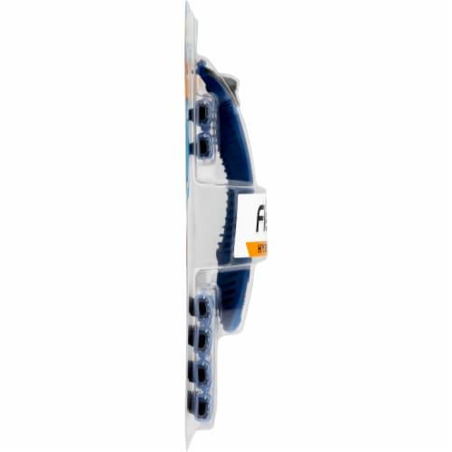 BIC Flex 2 Hybrid Disposable Razors Perspective: left