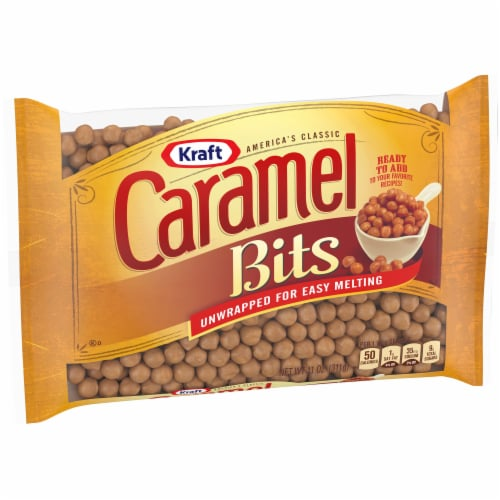Kraft Caramel Bits Perspective: left