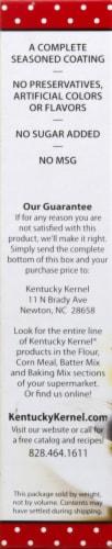 Kentucky Kernel Seasoned Flour Perspective: left