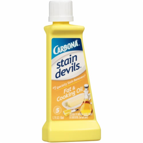 Carbona Stain Devils Fat & Cooking Oil Specialty Stain Remover Perspective: left