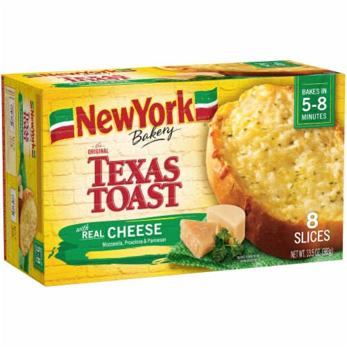 New York Bakery Real Cheese Texas Toast 8 Count Perspective: left