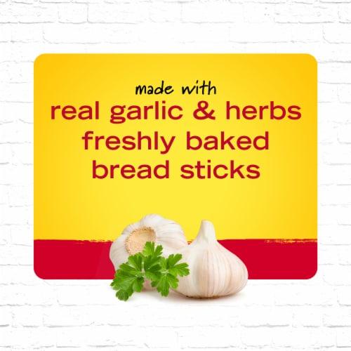 New York Bakery Garlic Bread Sticks Perspective: left