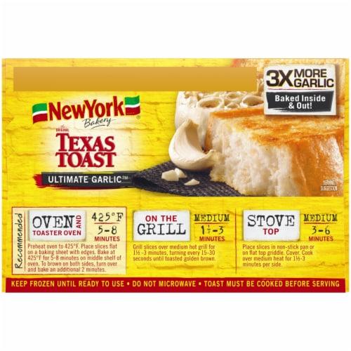 New York Bakery Ultimate Garlic Texas Toast Perspective: left