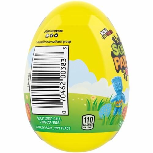 Sour Patch Kids Easter Egg Perspective: left