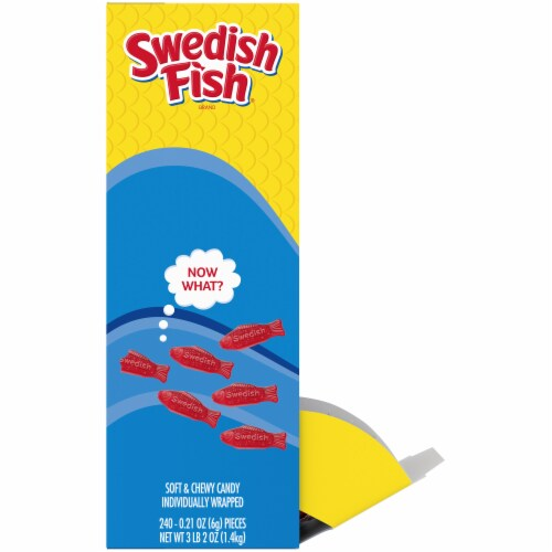 Swedish Fish Soft & Chewy Candy Perspective: left