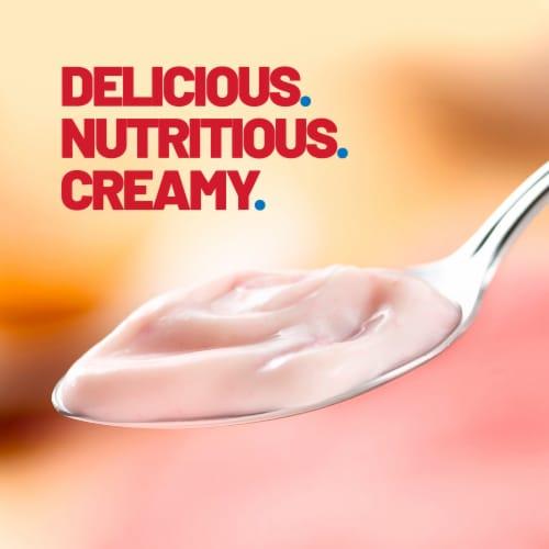 Yoplait Original Strawberry Gluten-Free Low Fat Yogurt Perspective: left